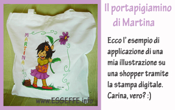 Shopper Portapigiamino